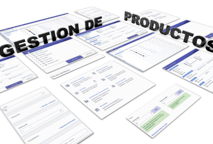 2Shoppy - Administración de productos